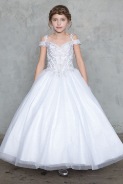 Calla Collection  Sparkly Mini Quince Gown - Product List Image