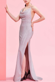 Jadore Sparkly Silver Gown - Product Mini Image