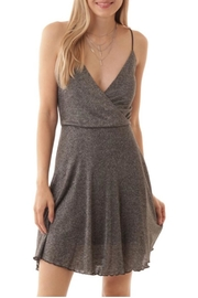 ijoah Sparkly V-Neck Dress - Product Mini Image