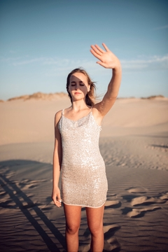Seventy Five Degrees and Fuzzy Sparks Fly Mini Dress - Product List Image