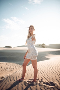Seventy Five Degrees and Fuzzy Sparks Fly Mini Dress - Alternate List Image