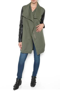 Shoptiques Product: Army Olive Trench