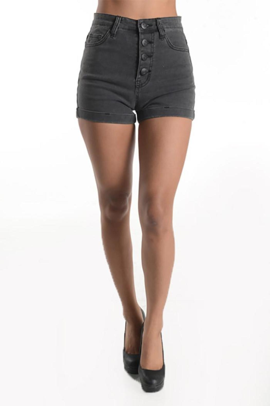 Sparrow High Rise Black Shorts From Michigan By Sparrow