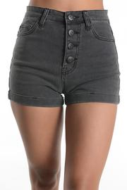 Sparrow High-Rise Black Shorts - Product Mini Image