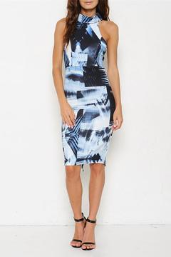 Sparrow Abstract Print Dress - Product List Image