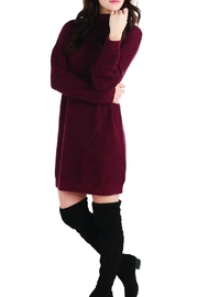 Mud Pie Sparrow Turtleneck Sweater-Dress - Product Mini Image
