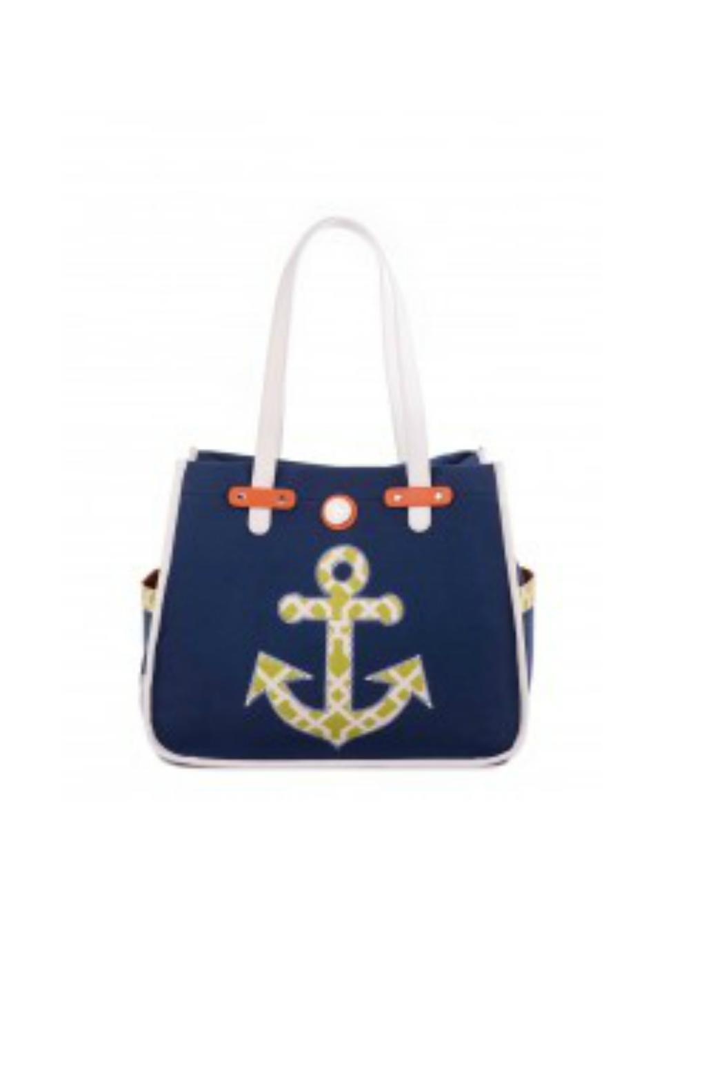 Spartina 449 Anchor Beach Bag Front Cropped Image