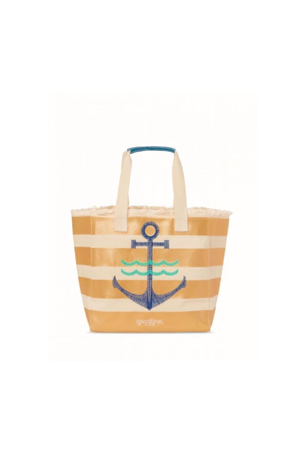 Spartina 449 Anchor Beach Tote - Front Cropped Image