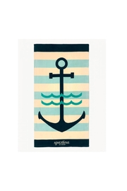 Spartina 449 Anchor Beach Towel - Front cropped