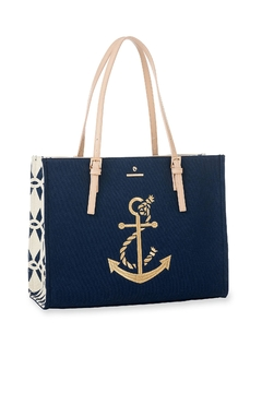 Shoptiques Product: Anchor Sand Tote Bag