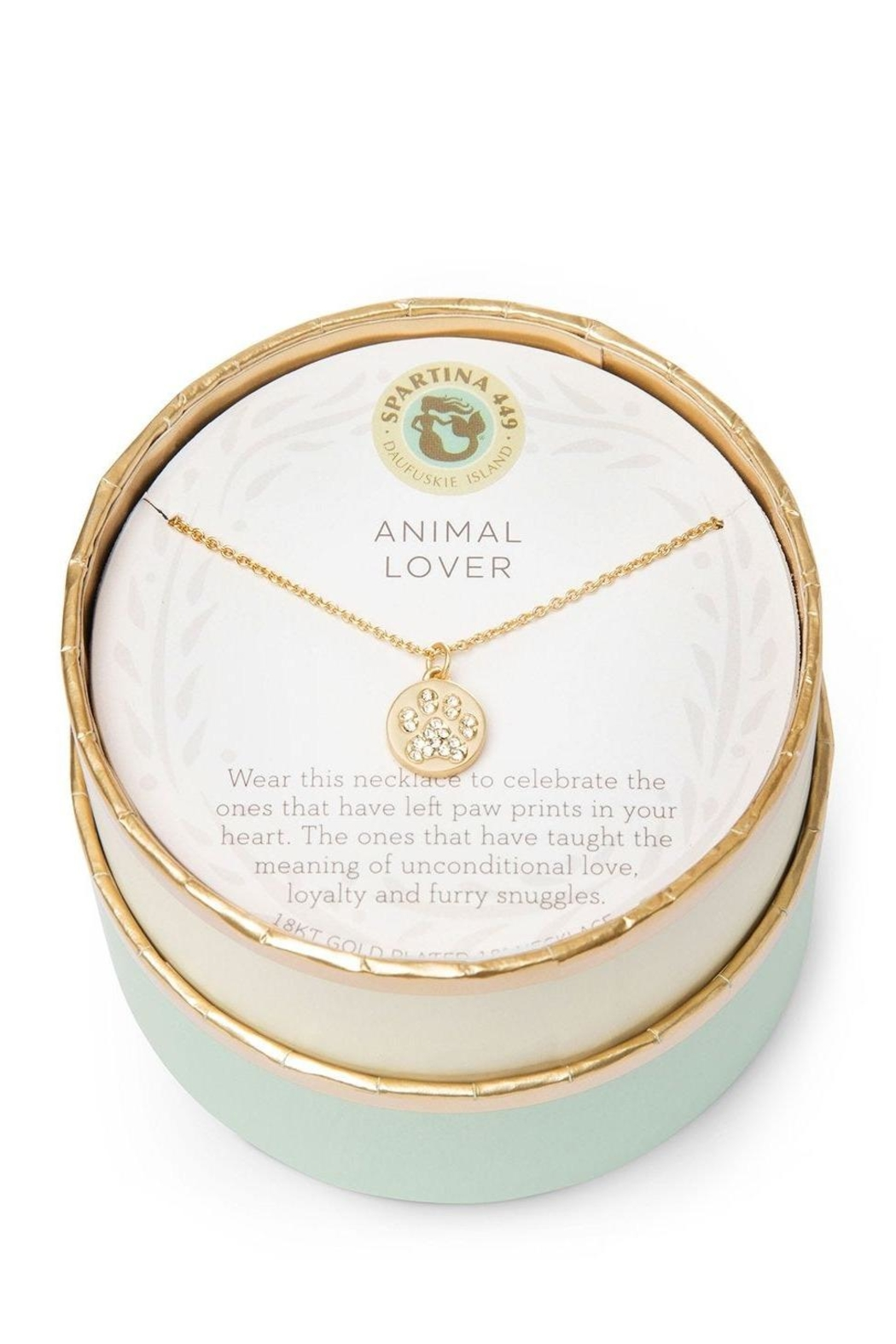 Spartina 449 Animal Lover Necklace - Side Cropped Image