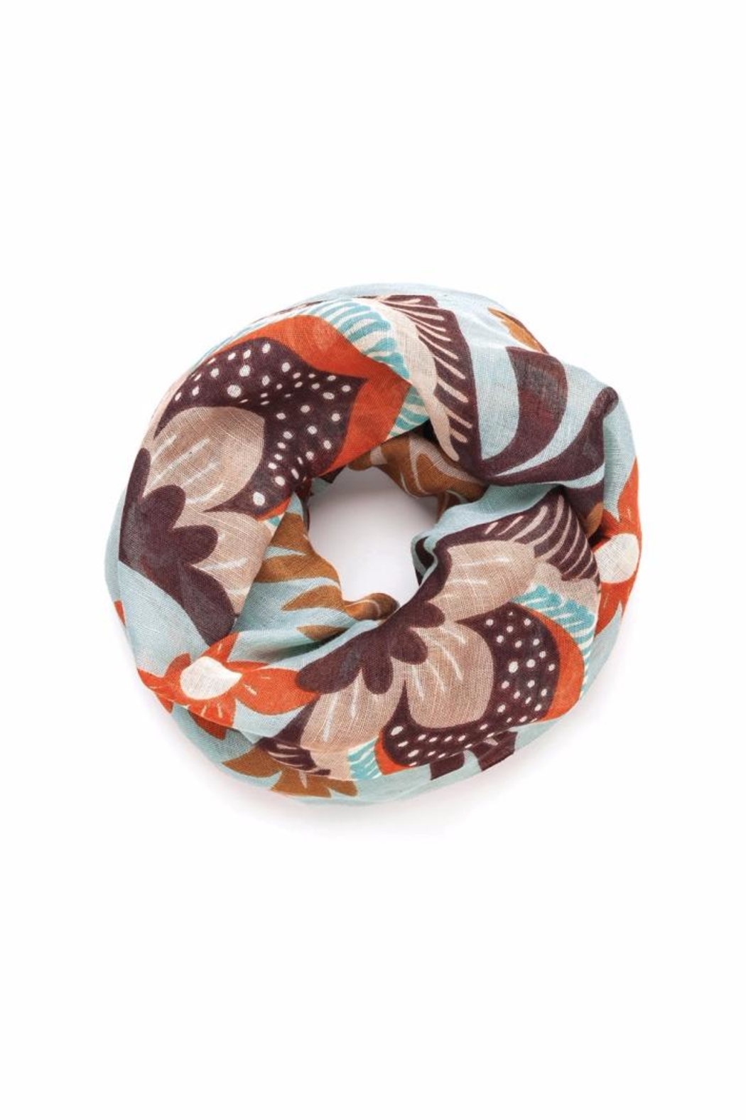 Spartina 449 Autumn Infinity Scarf - Front Cropped Image