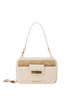 Shoptiques Product: Bamboo-Chic Multiphone Crossbody