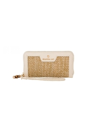 Spartina 449 Bamboo Chic Zip Wallet - Front cropped
