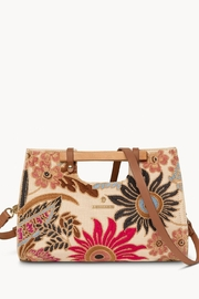 Spartina 449 Barbee Floral Clutch - Product Mini Image
