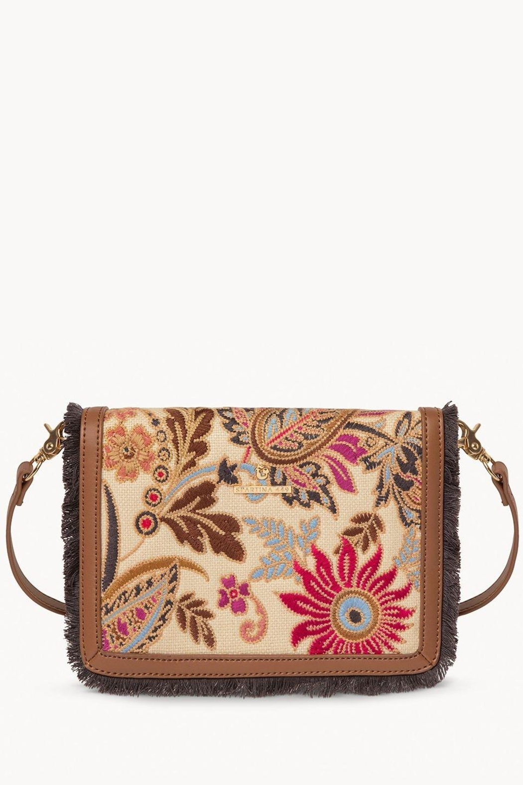 Spartina 449 Barbee Floral Crossbody - Main Image