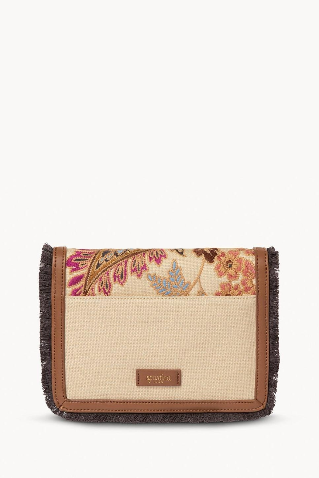 Spartina 449 Barbee Floral Crossbody - Side Cropped Image