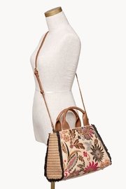 Spartina 449 Barbee Floral Satchel - Side cropped