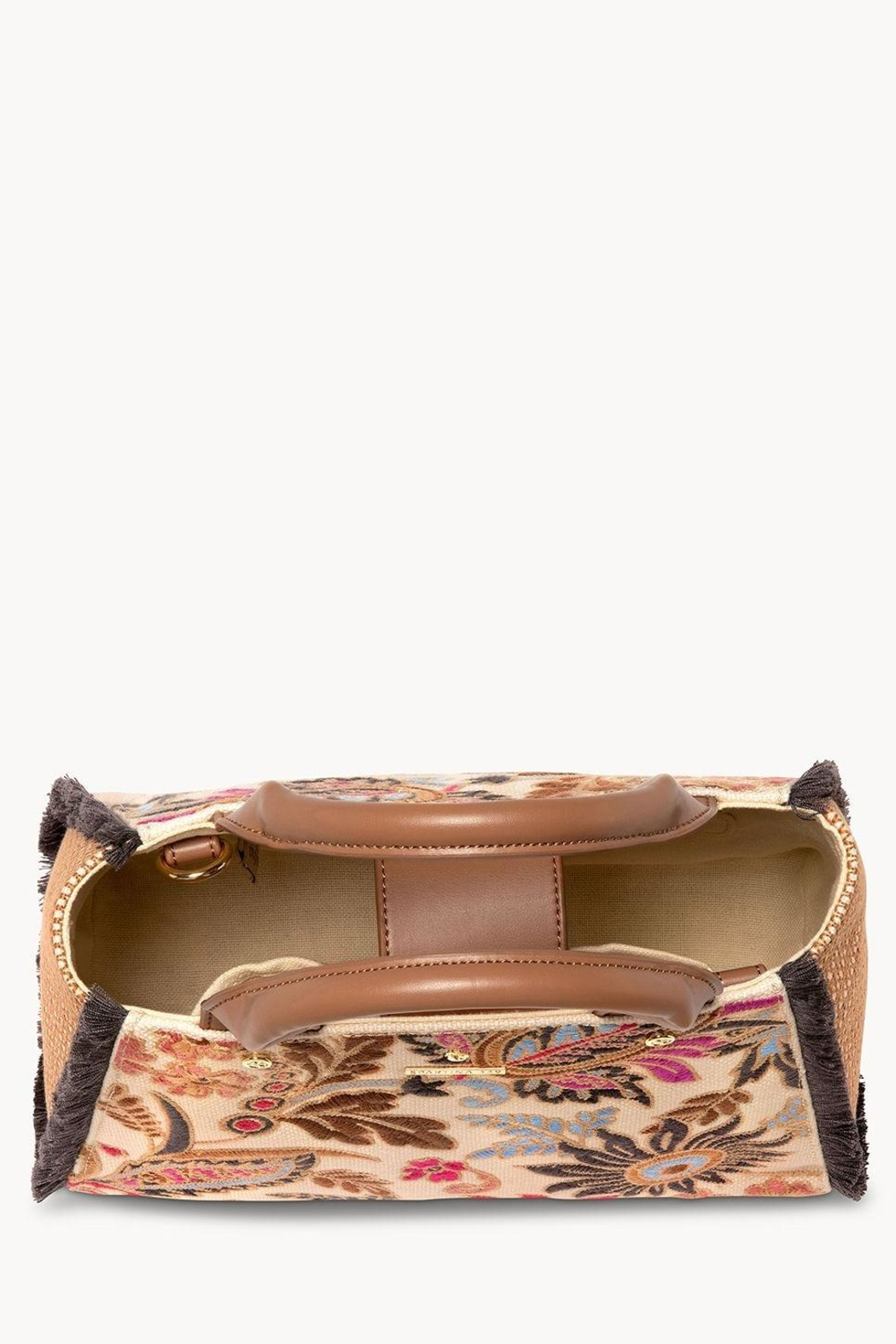 Spartina 449 Barbee Floral Satchel - Front Full Image