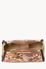 Spartina 449 Barbee Floral Satchel - Front full body