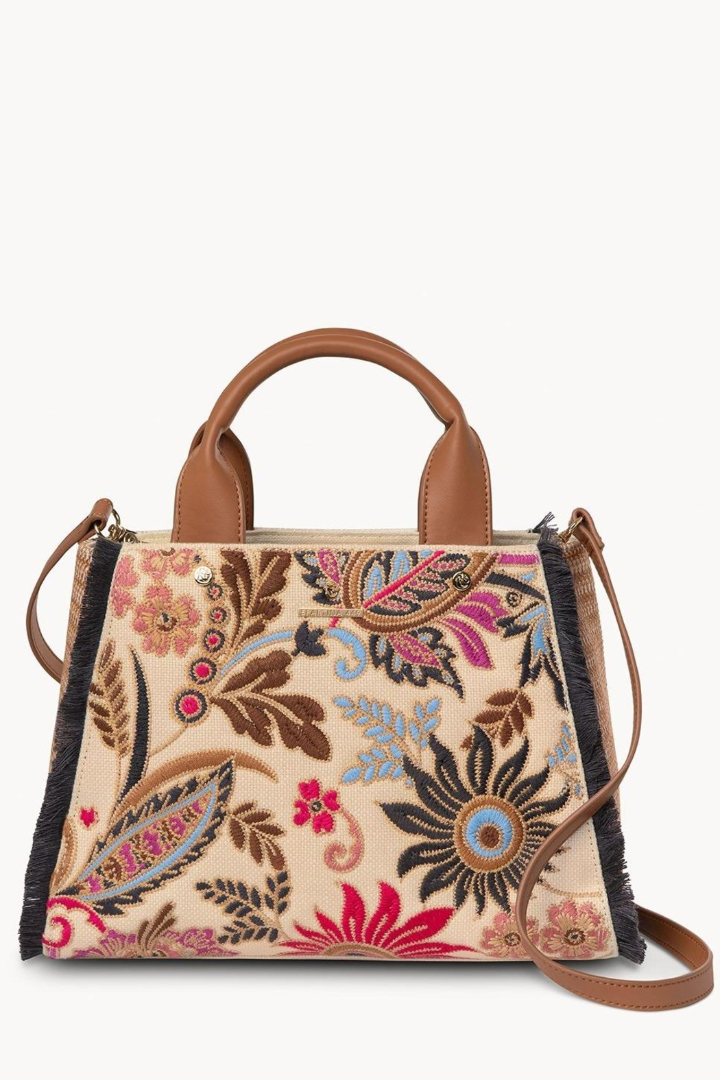 Spartina 449 Barbee Floral Satchel - Main Image