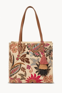 Spartina 449 Barbee Floral Tote - Product List Image