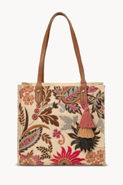 Spartina 449 Barbee Floral Tote - Product Mini Image