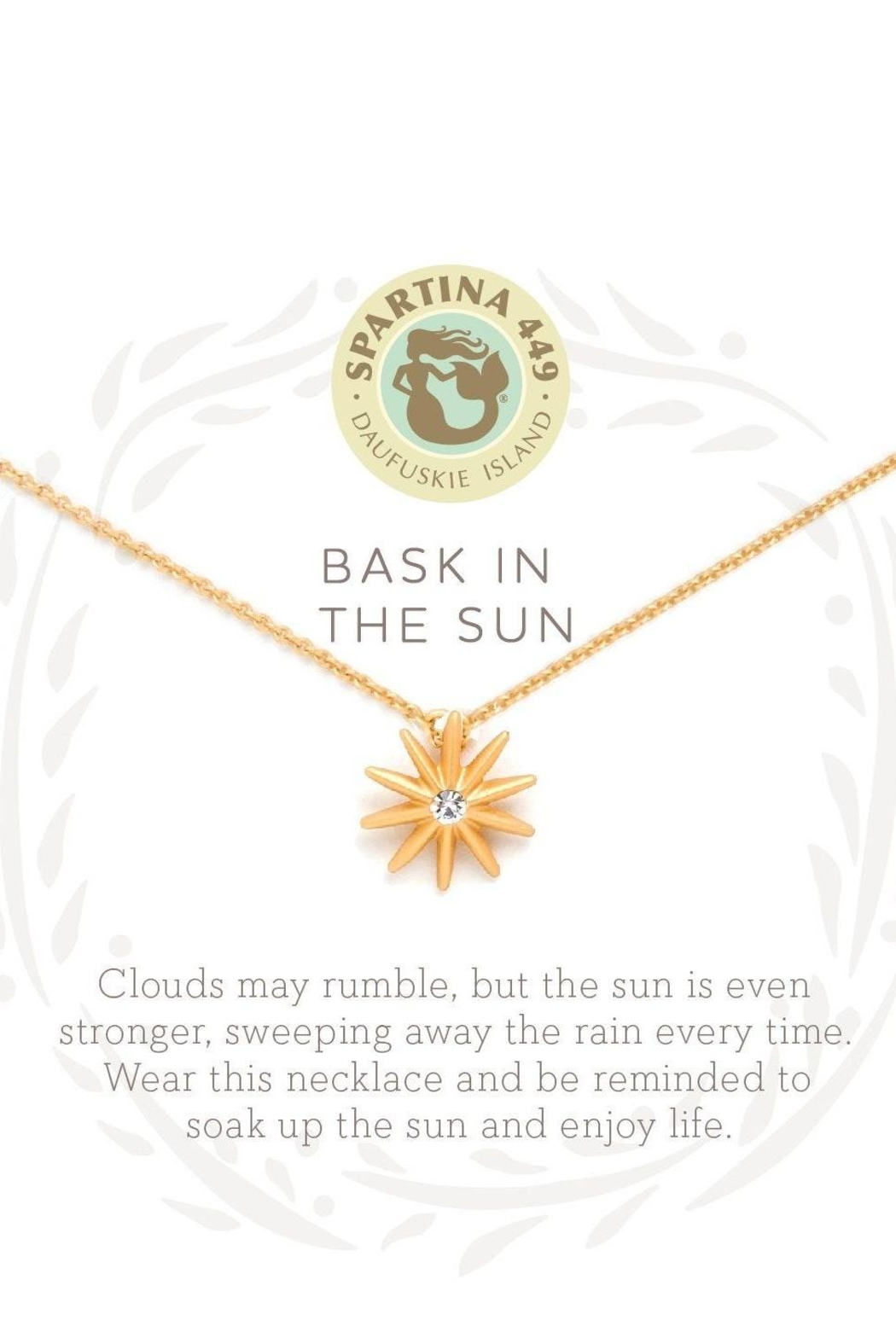 Spartina 449 Bask In The Sun Necklace - Front Full Image