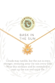 Spartina 449 Bask In The Sun Necklace - Front full body