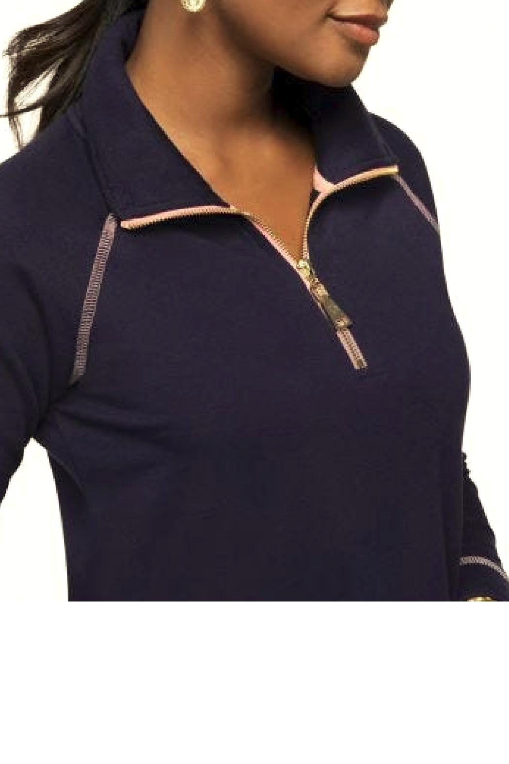 Spartina 449 Bay Point Half-Zip Top - Front Full Image