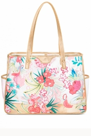 Spartina 449 Beach Tote Flamingo Floral Retreat - Product Mini Image