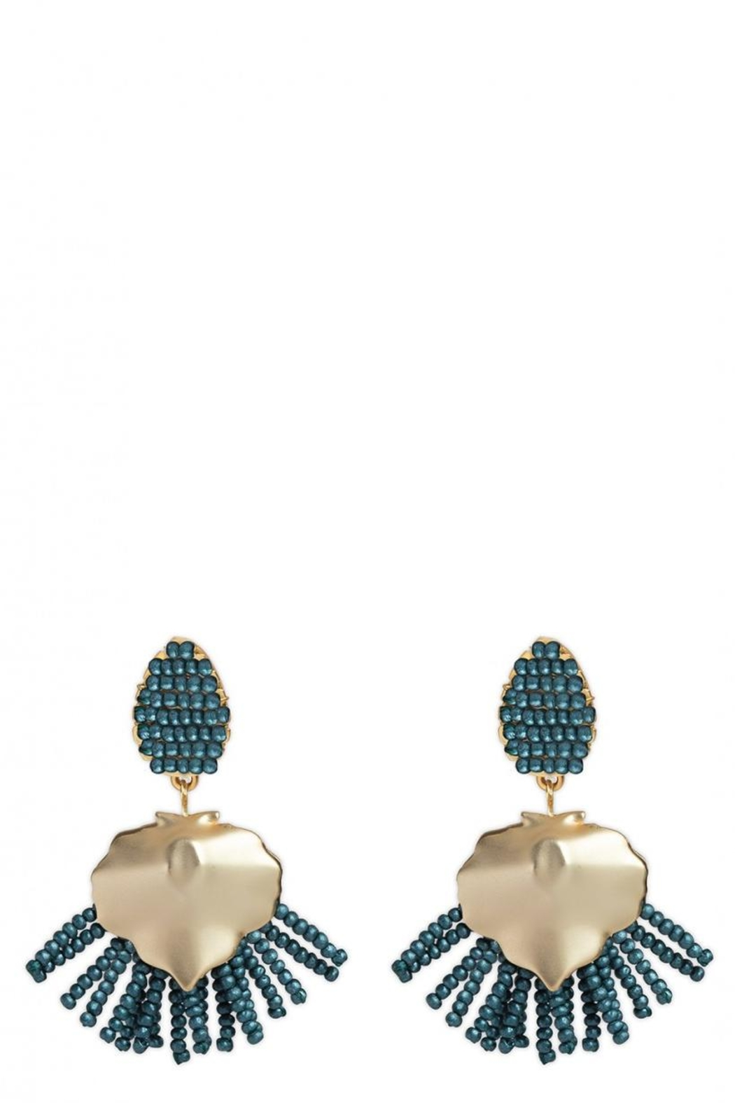 Spartina 449 Beaded Fringe Earrings - Main Image