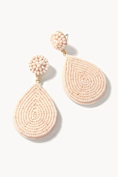 Spartina 449 Beaded Petal Earrings - Product List Image