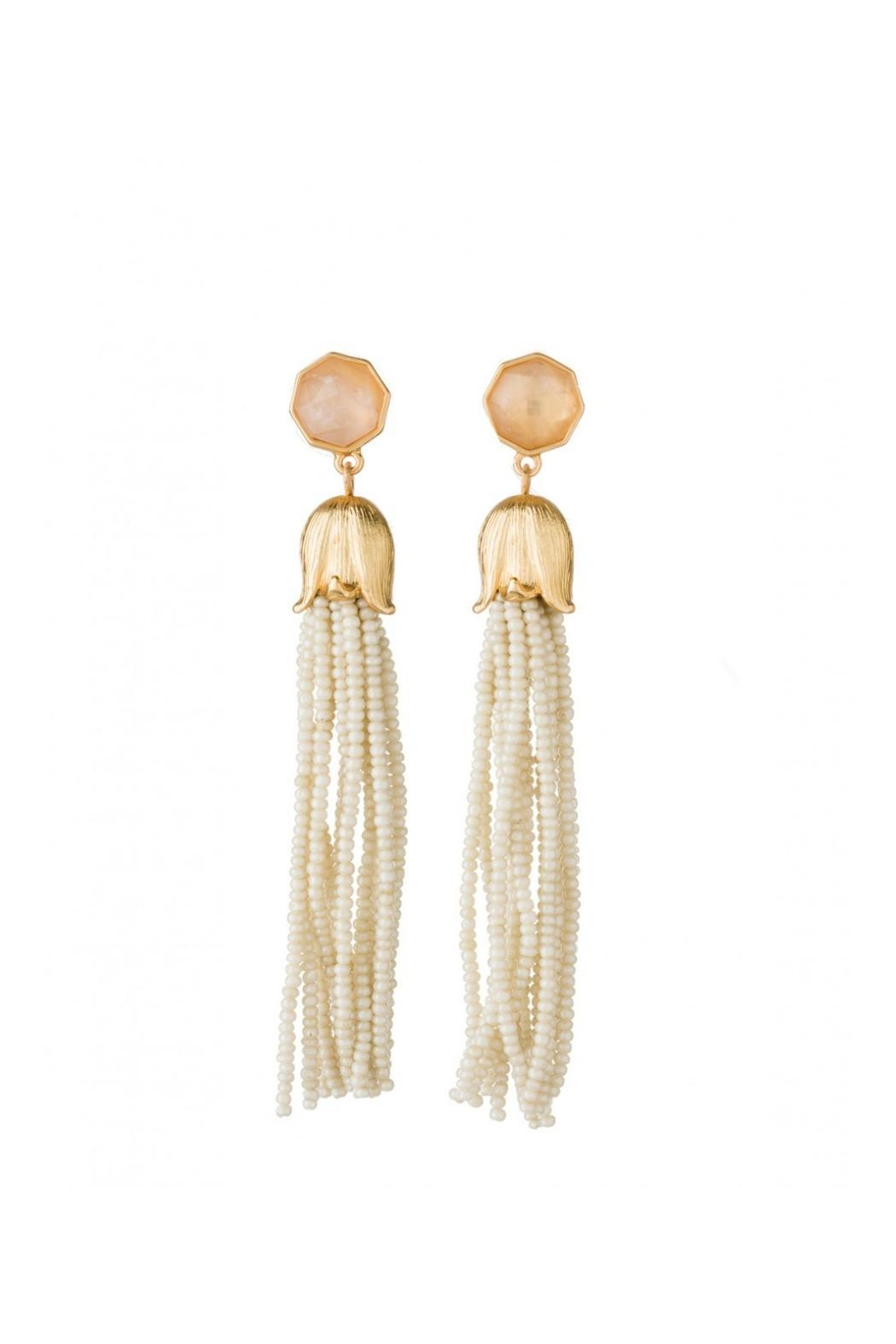Spartina 449 Bellflower Tassell Earrings - Main Image