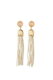 Spartina 449 Bellflower Tassell Earrings - Front cropped
