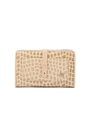 Spartina 449 Blonde Croc Snap Wallet - Product Mini Image