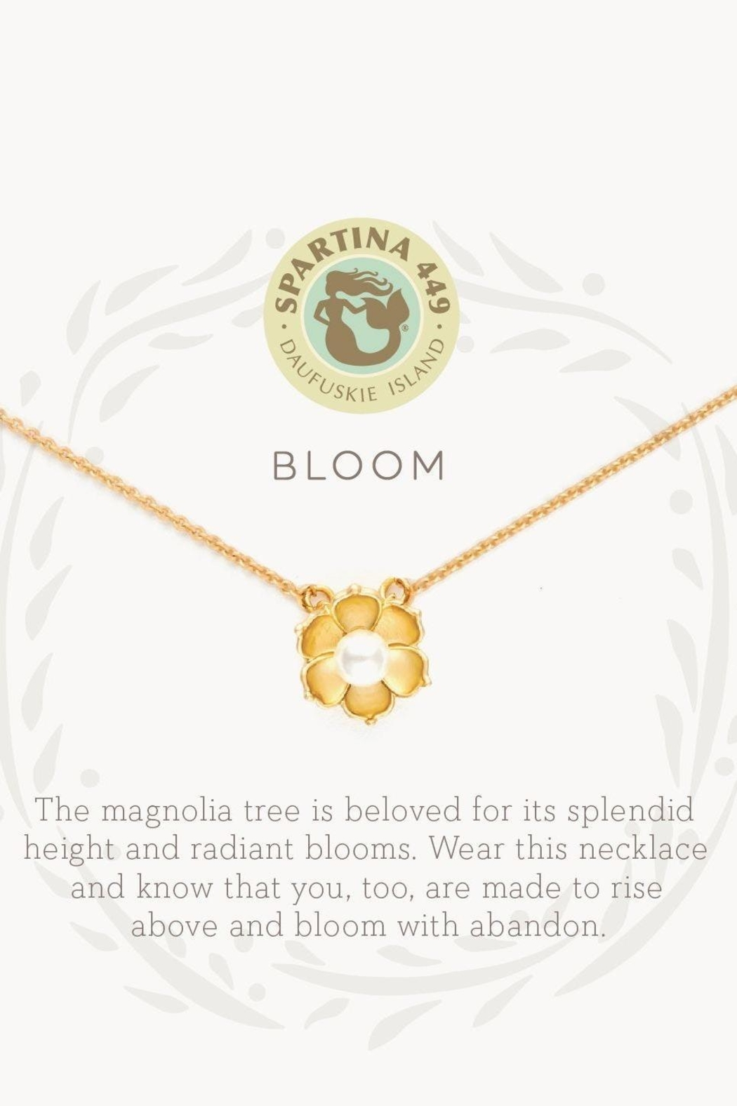 Spartina 449 Bloom Necklace - Front Full Image