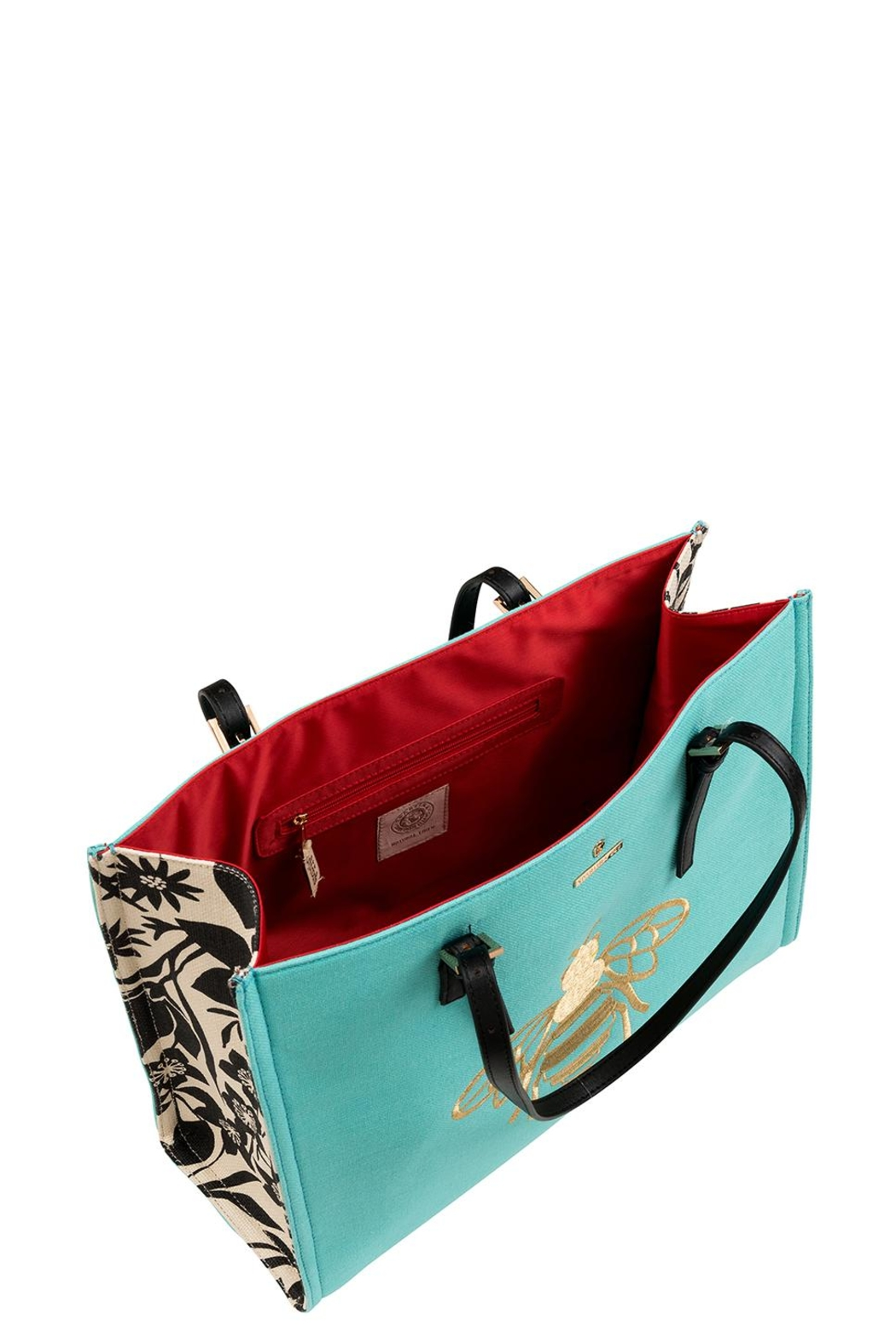 Spartina 449 Bumblebee Sand Tote Bag - Front Full Image