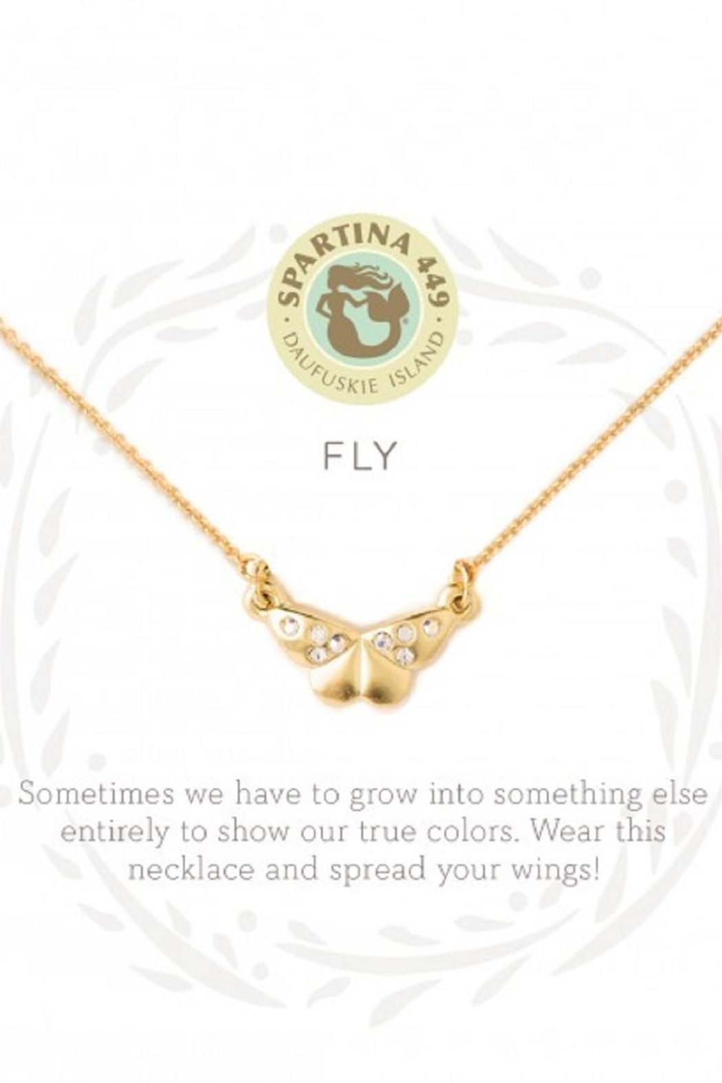 Spartina 449 Butterfly Necklace - Main Image