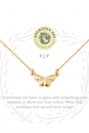 Spartina 449 Butterfly Necklace - Front cropped