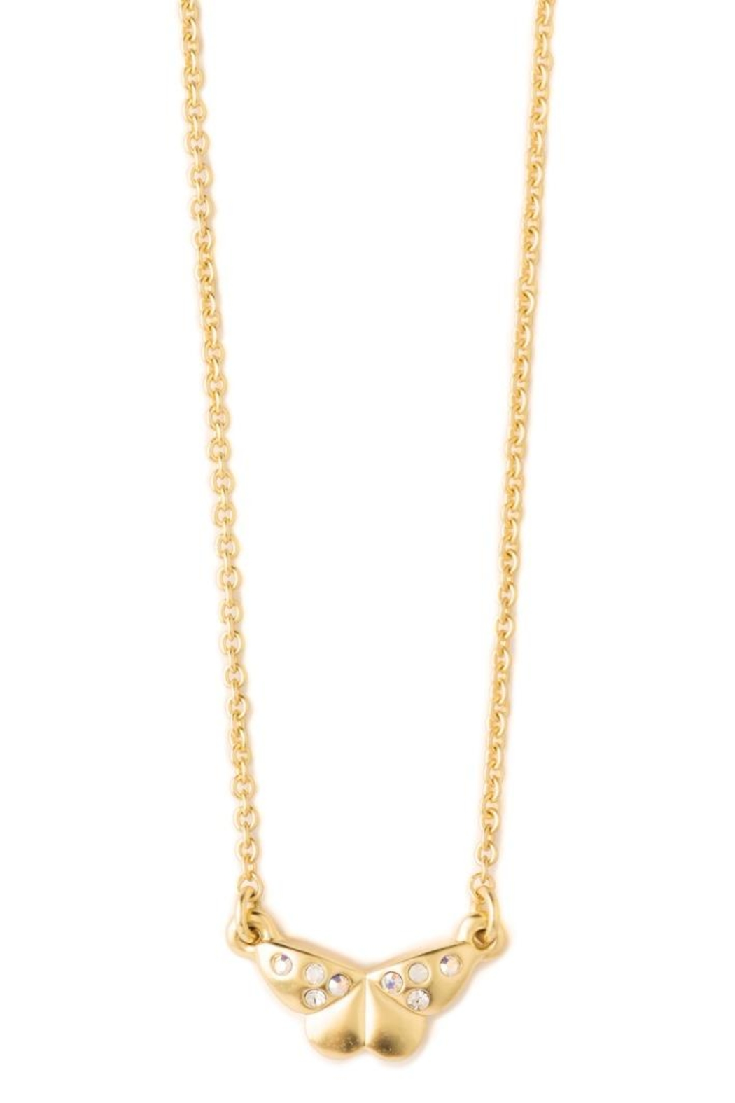 Spartina 449 Butterfly Necklace - Front Full Image