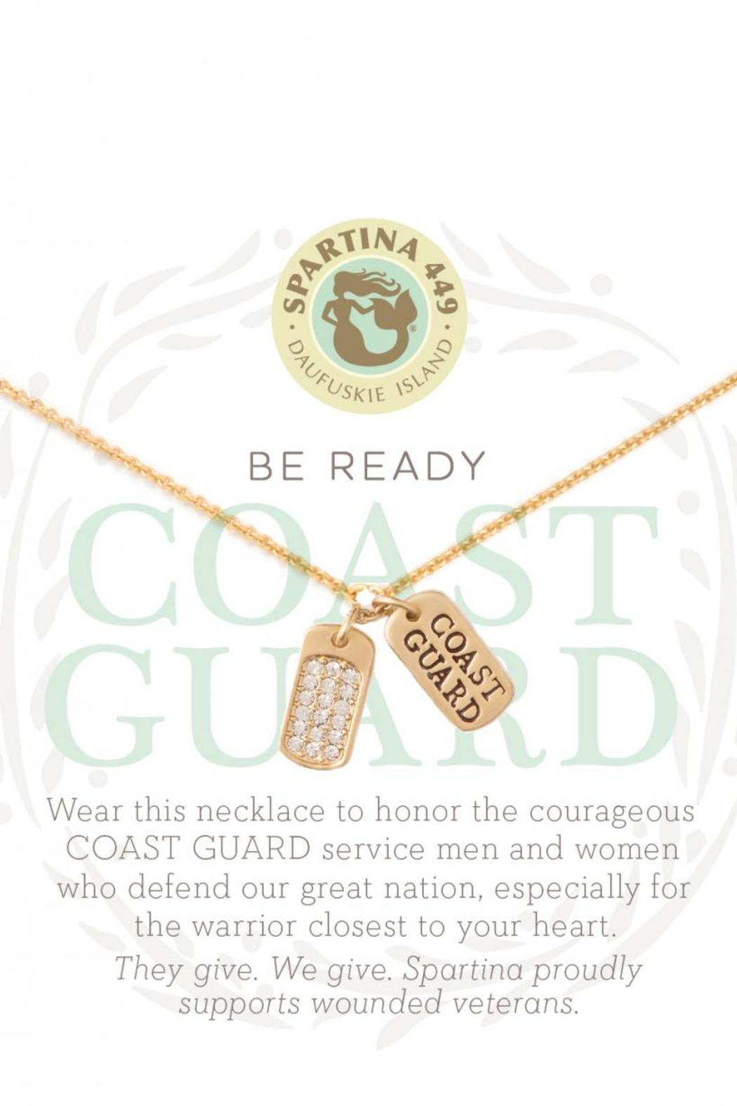 Spartina 449 Coast Guard Necklace - Front Cropped Image