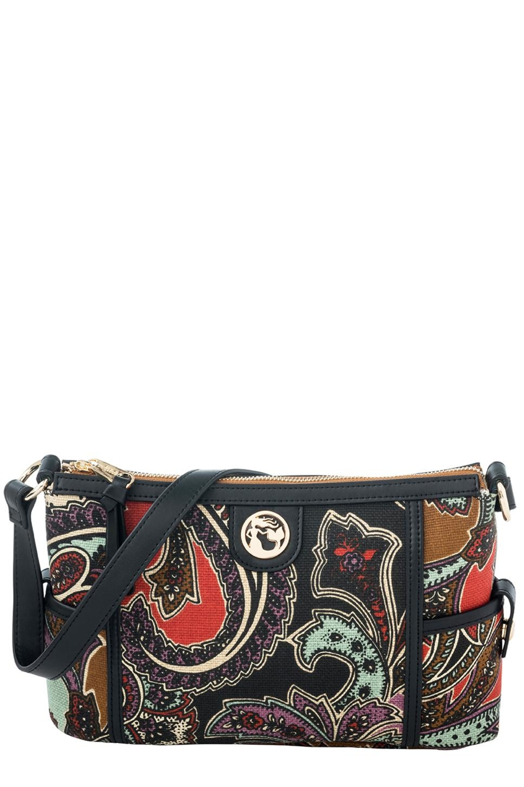 Spartina 449 Cora Simple Zip - Front Cropped Image