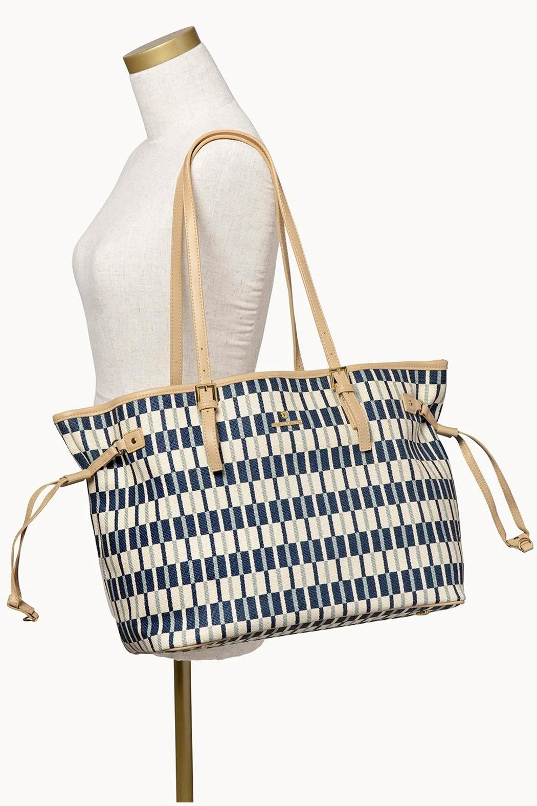 Spartina 449 Daise Jetsetter Tote - Back Cropped Image