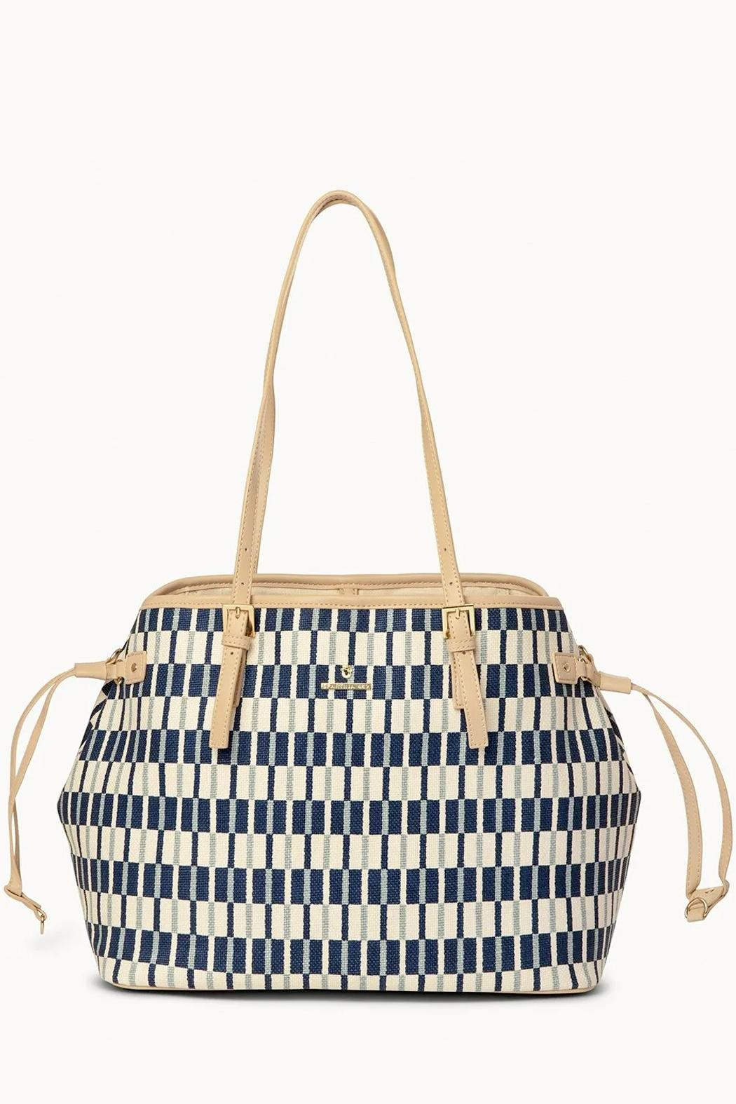 Spartina 449 Daise Jetsetter Tote - Front Full Image
