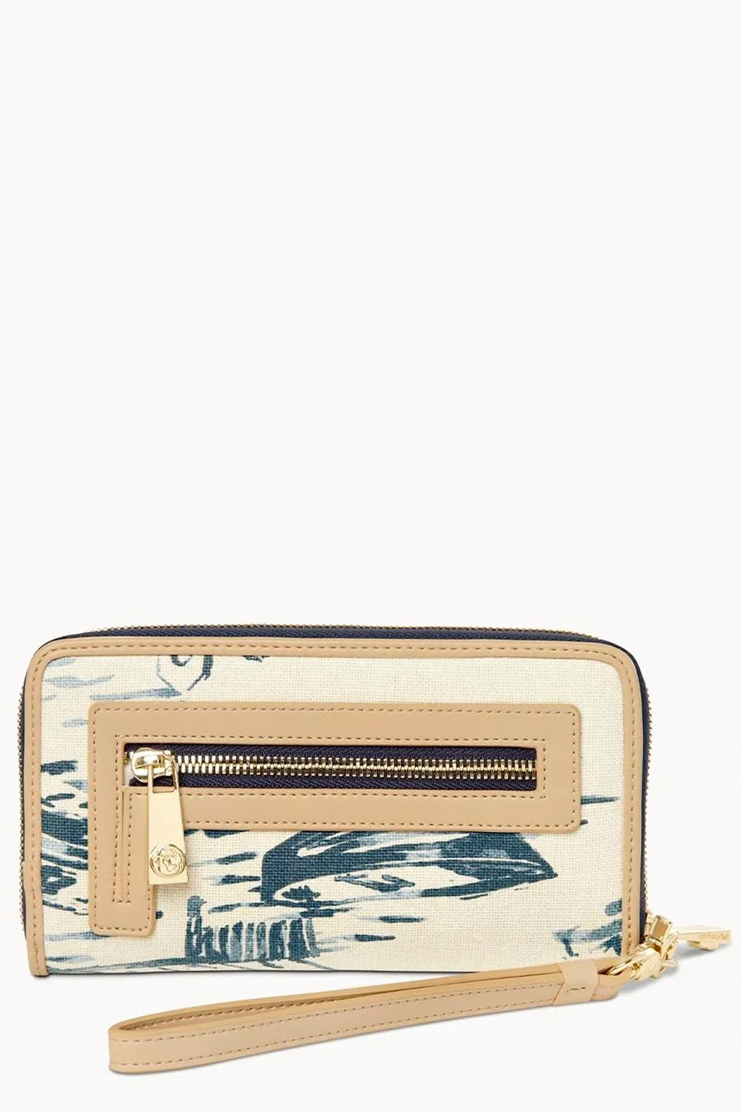 Spartina 449 Daise-Seascape 449 Wallet - Front Full Image