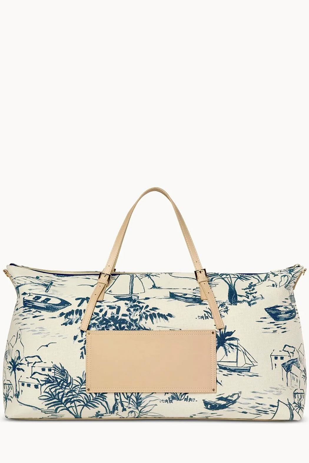 Spartina 449 Daise-Seascape Voyager Duffle - Front Full Image