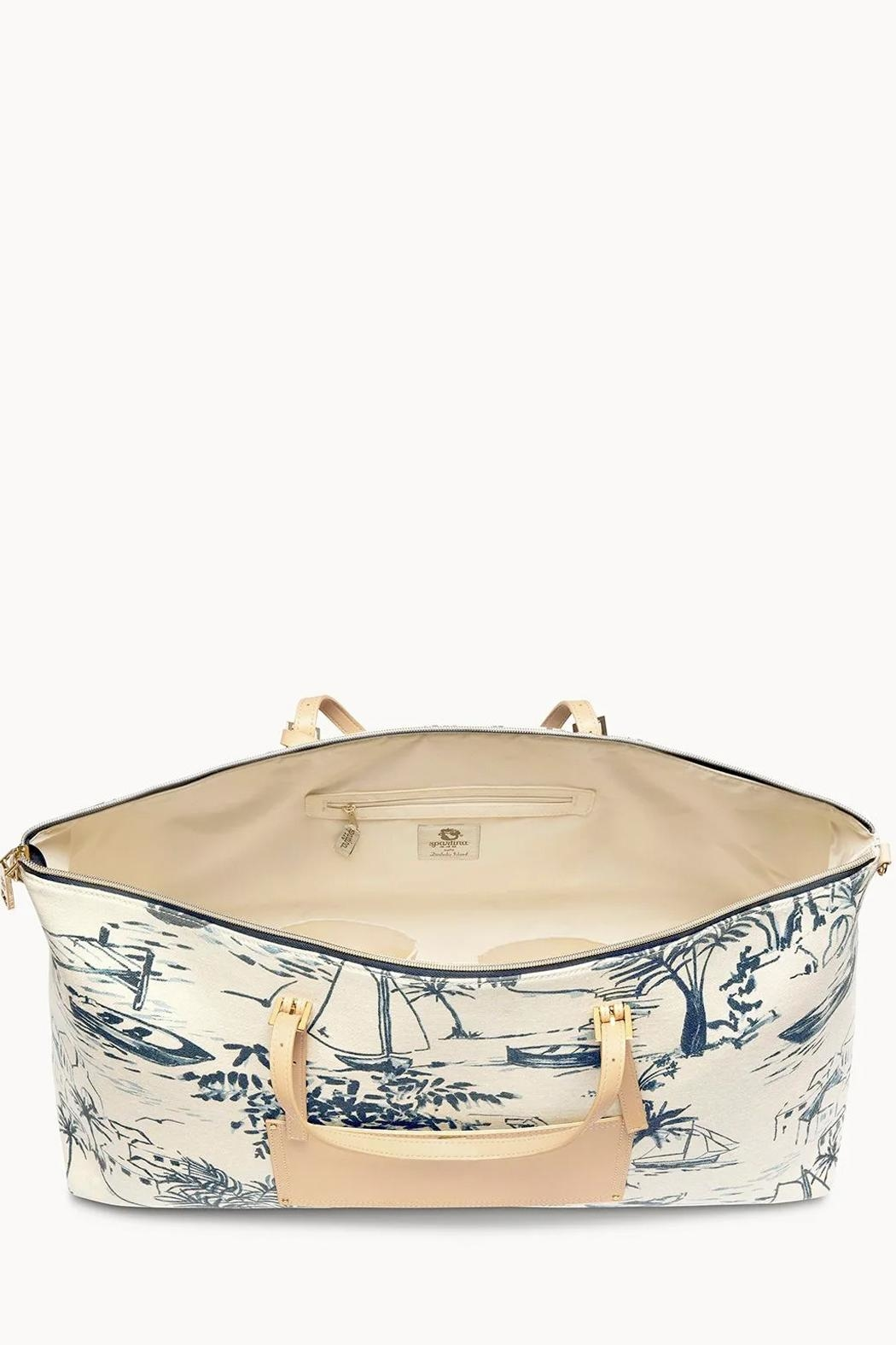 Spartina 449 Daise-Seascape Voyager Duffle - Side Cropped Image