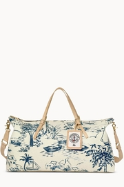 Spartina 449 Daise-Seascape Voyager Duffle - Front cropped