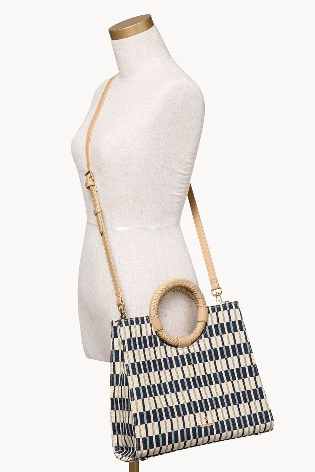 Spartina 449 Daise Shopper Tote - Back Cropped Image